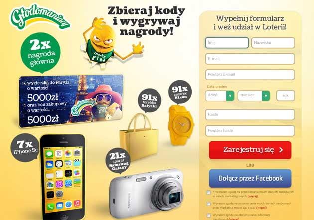 Loteria Danone Głodomaniacy 2014 wygraj iPhone 5c i wycieczkę