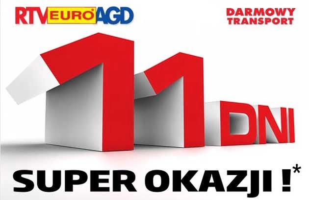 Promocje na weekend majowy w RTV Euro AGD