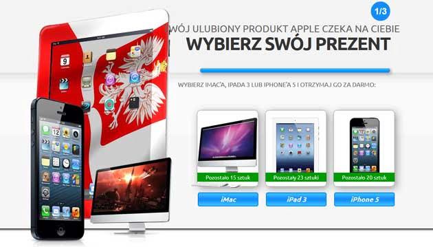 Wygraj iMac, iPad 3 lub iPhone 5 w konkursie Aldaniti
