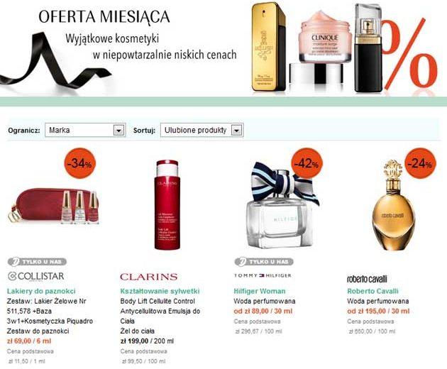 Oferty miesiąca w perfumerii Douglas, perfumy taniej w promocji