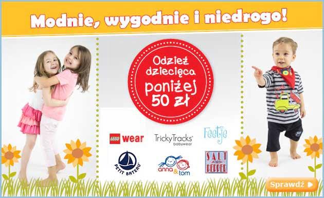 Pink or Blue promocja, ubranka dla dzieci i niemowląt poniżej 50 zł