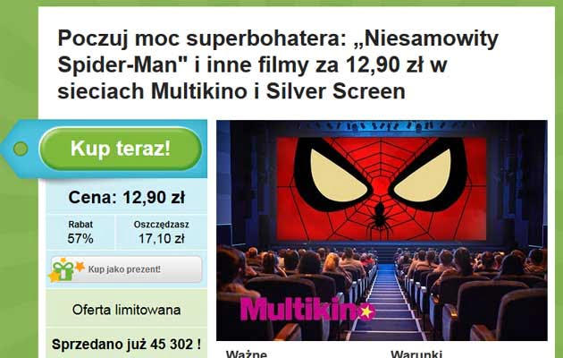 tanie bilety do kina