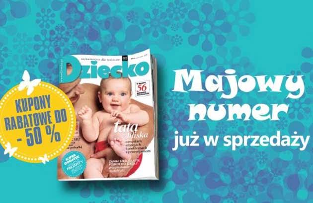 """Kupony rabatowe w magazynie Dziecko na """"Weekend Zniżek 2014"""""""