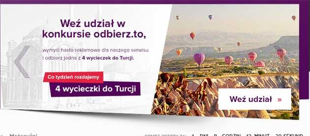 Wygraj wycieczkę do Turcji w konkursie Odbierz to