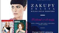 """Kupony rabatowe w magazynach Zwierciadło i Sens na """"Zakupy z Klasą 2014"""""""
