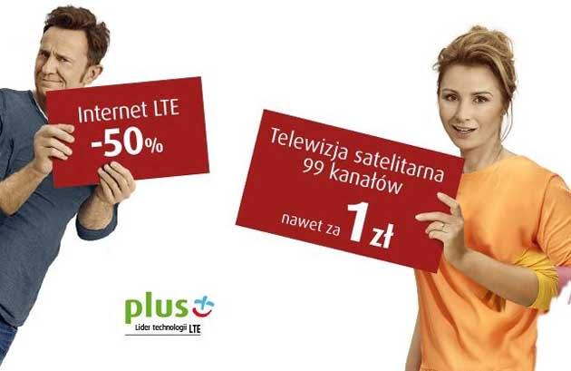 Promocja SmartDom w Plus GSM Internet 50% taniej i TV nawet od 1 zł