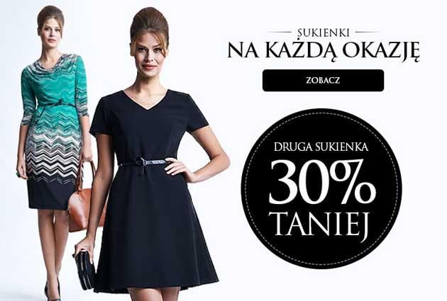 Wyprzedaż, sukienki w Heppin -30% taniej