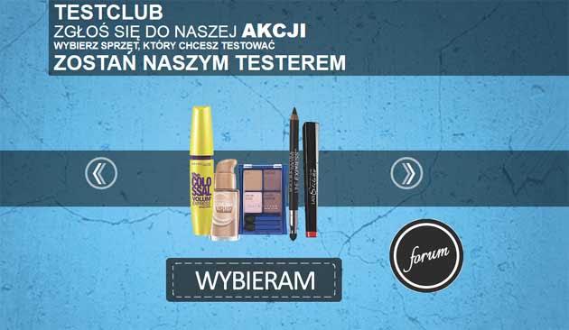 Testowanie markowych kosmetyków za darmo 2014