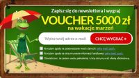 Wygraj voucher na wakacje marzeń w konkursie Żabka
