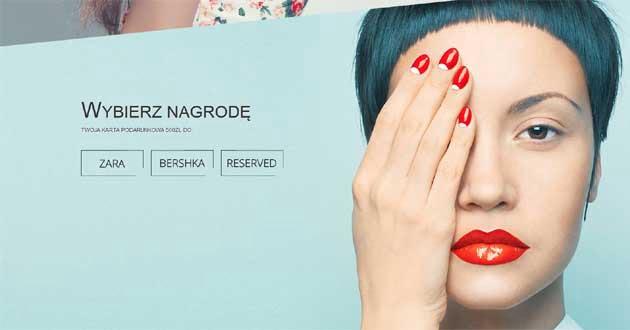 Wygraj kartę podarunkową do Zara, Bershka  oraz Reserved