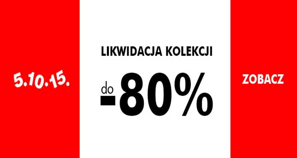 5.10.15 wyprzedaż, ubrania dla dzieci taniej nawet do -80% ceny