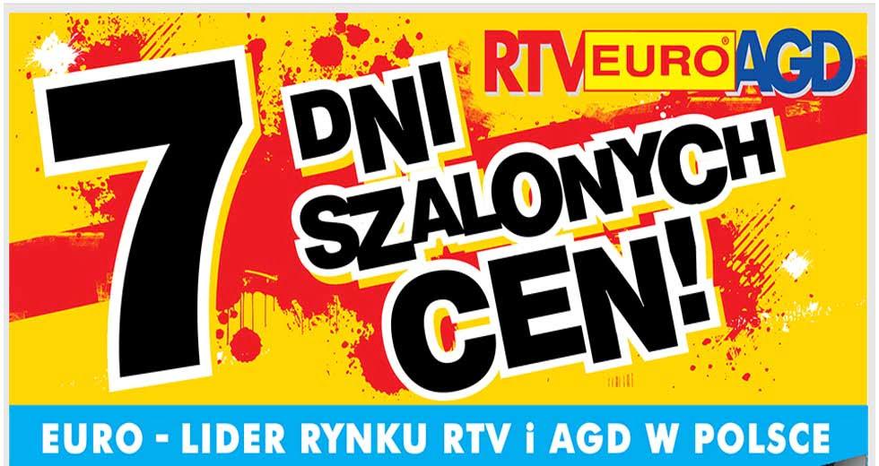 7 dni szalonych cen w RTV Euro AGD