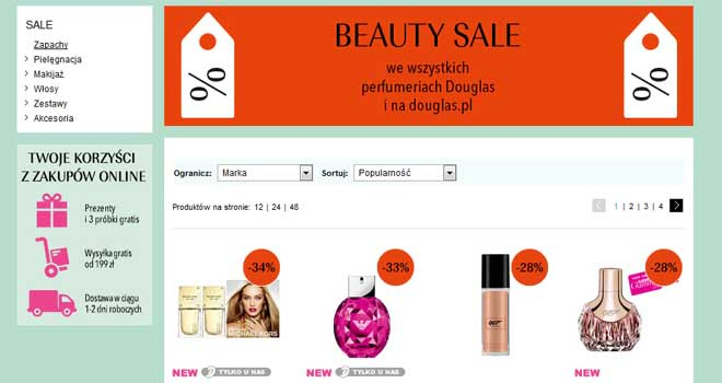 beauty sale douglas promocja