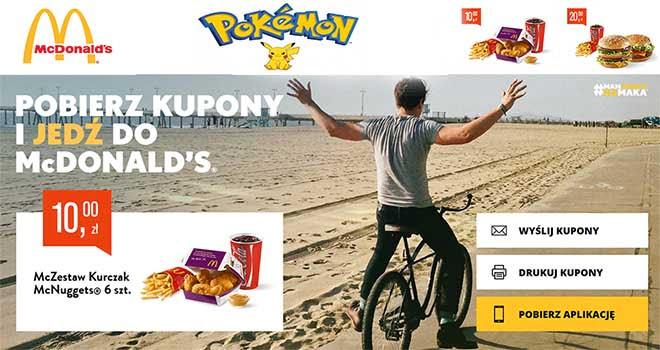 mcdonalds kupony pokemon