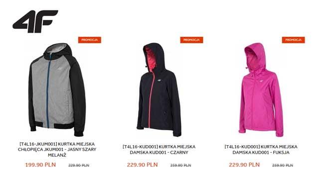 promocja 4f ubrania