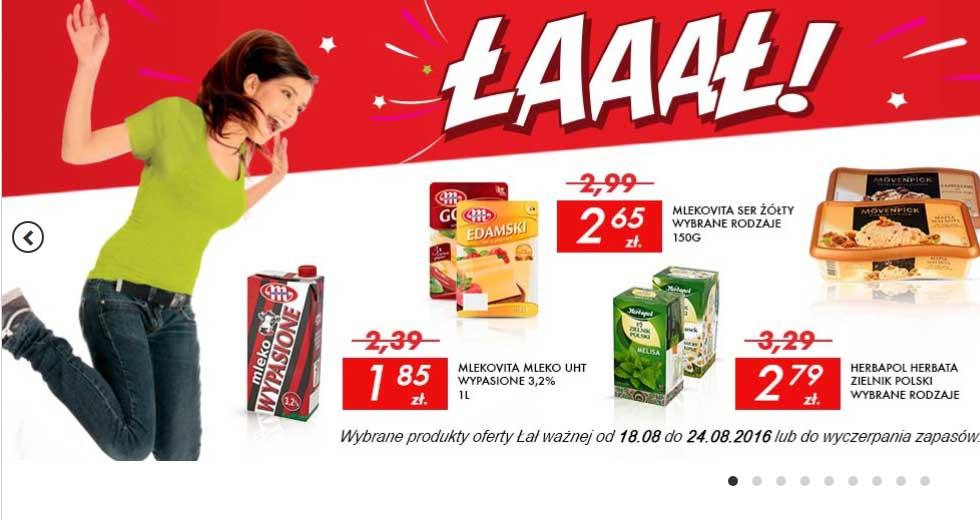 Promocja w Auchan, produkty spożywcze i codziennego użytku taniej