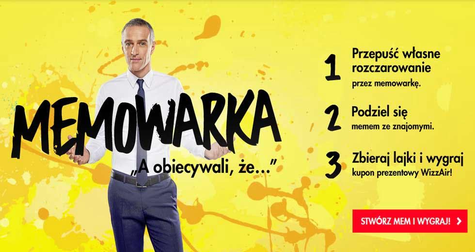 Konkurs Raiffeisen Polbank memowarka wygraj kupon WizzAir