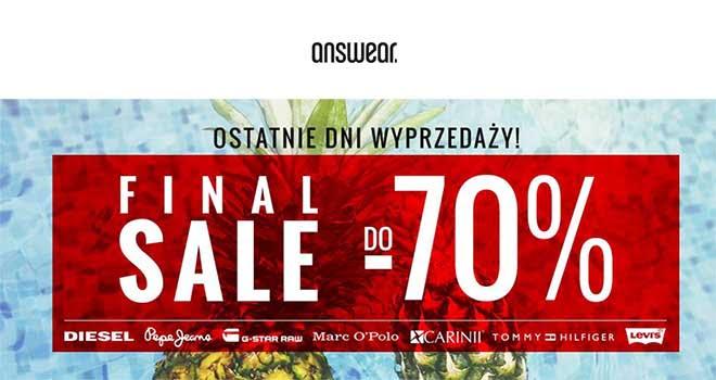 answear final sale