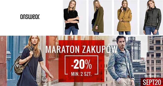 answear maraton zakupów