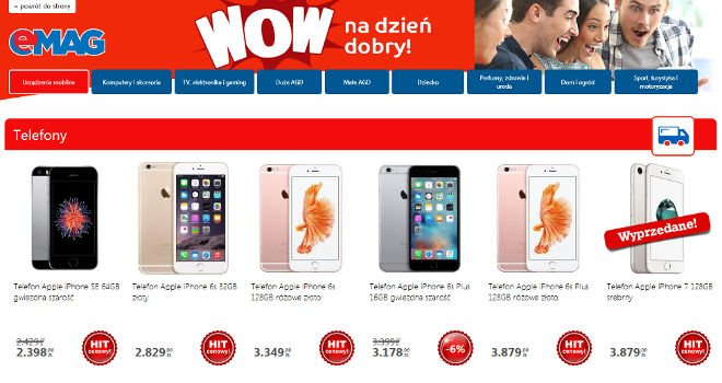emag promocja wow