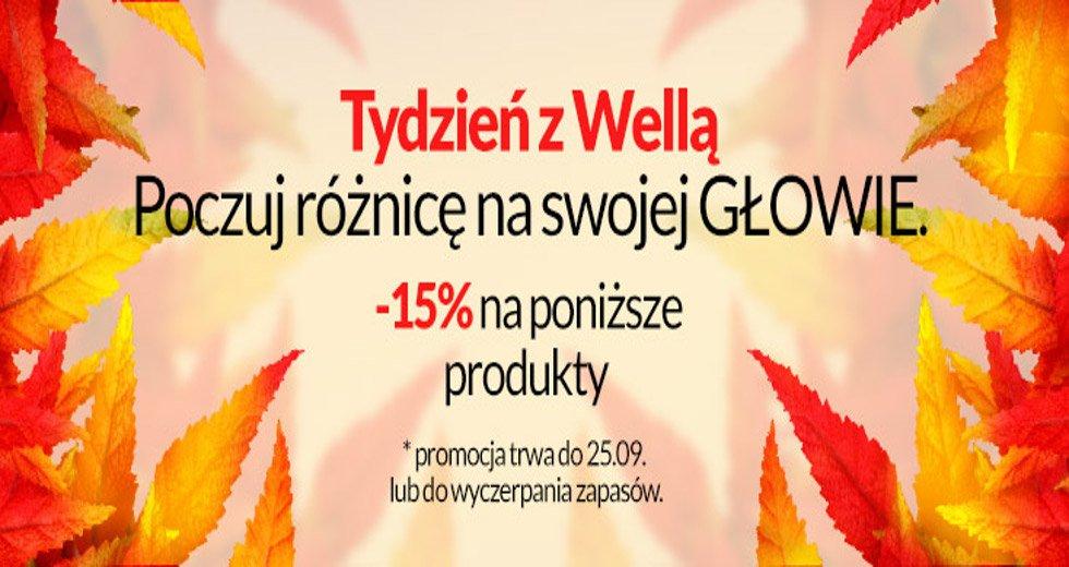 Estyl promocja na produkty Wella -15% taniej
