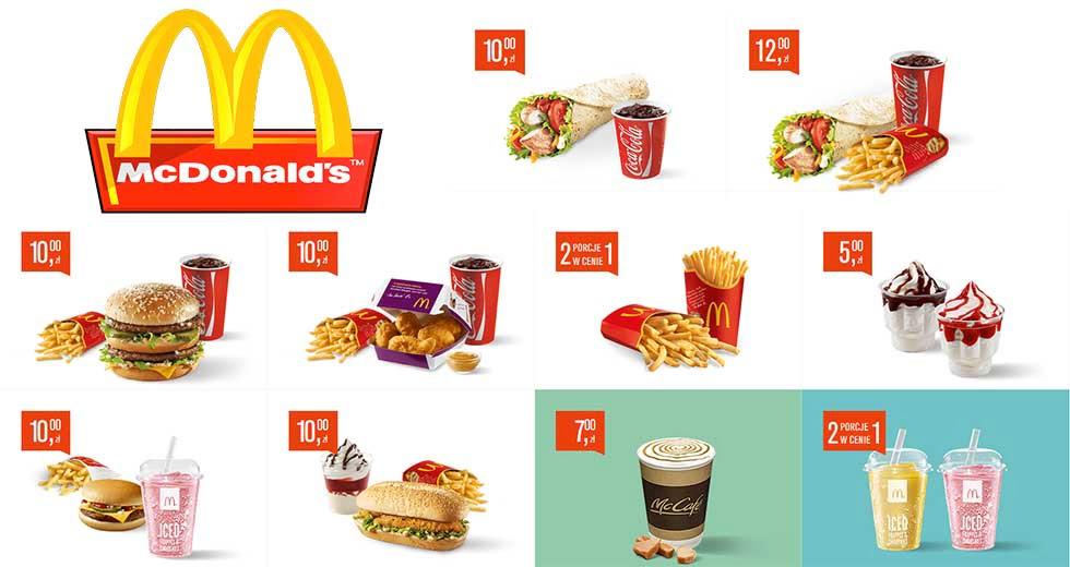 McDonald's kupony rabatowe na wrzesień i październik 2016