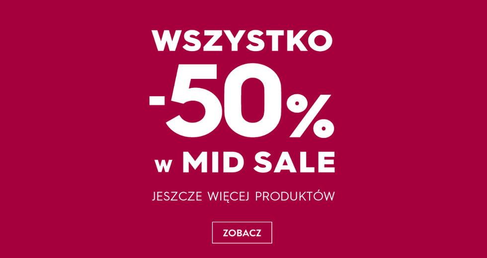 Top Secret promocja na wszystko w Mid Sale -50% taniej