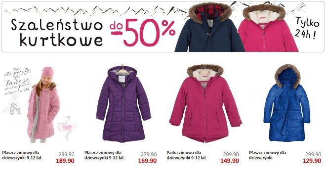 endo kurtki zimowe dla dzieci