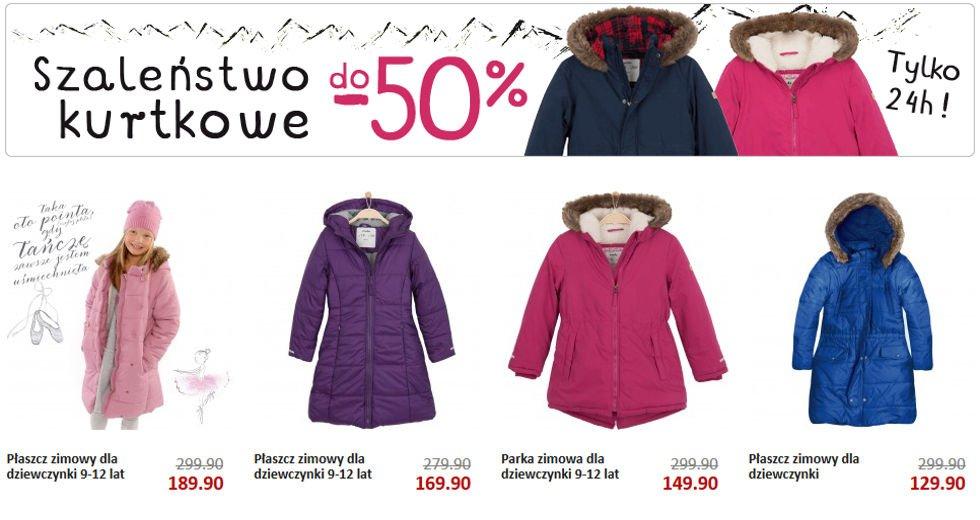 Endo kurtki na zimę dla dzieci do -40% taniej