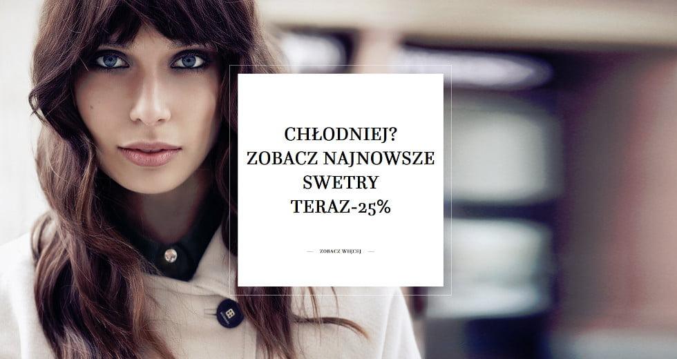 Monnari swetry z kolekcji jesiennej -25% taniej