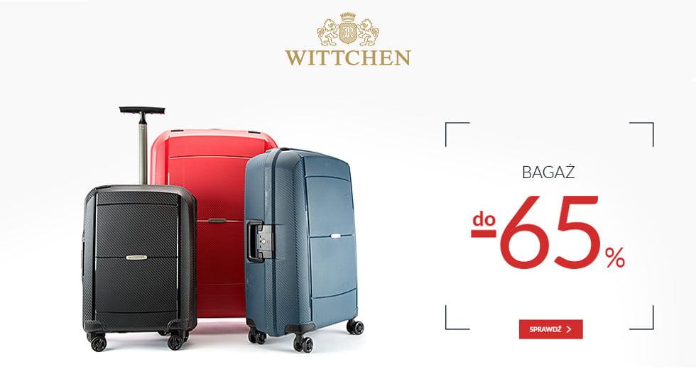 Wittchen walizki podróżne, plecaki i torby -60% taniej