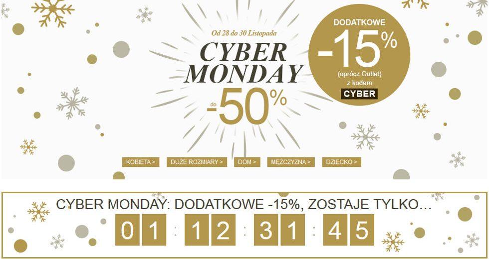 La Redoute Cyber Monday promocje na odzież i akcesoria