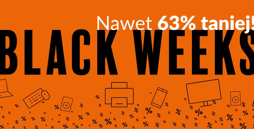 Poleasingowy sprzęt komputerowy i smartfony na Black Weeks