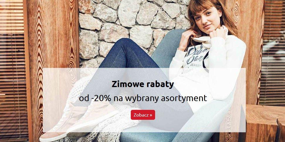 BonPrix promocja zimowa na ubrania dla kobiet rabat -20%