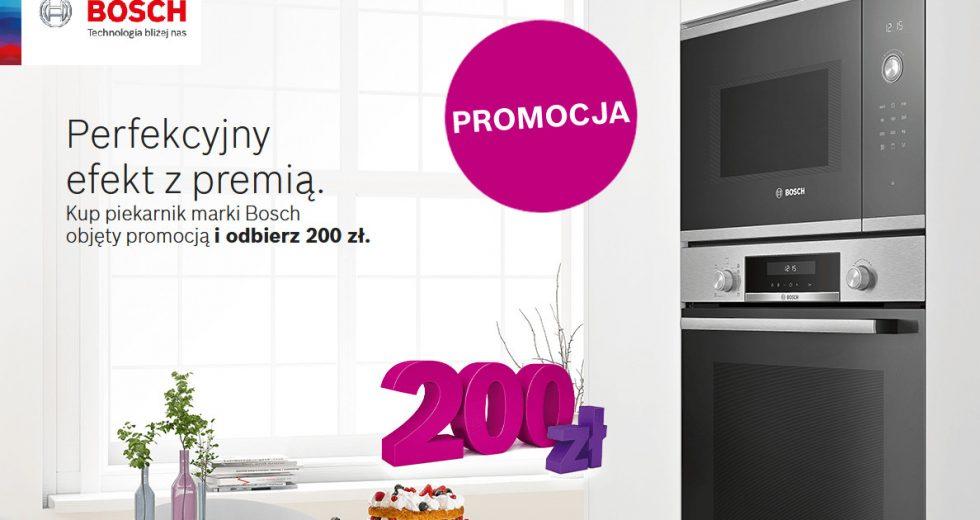 Promocja Bosch kup piekarnik w sklepie Ole Ole i odbierz 200 zł