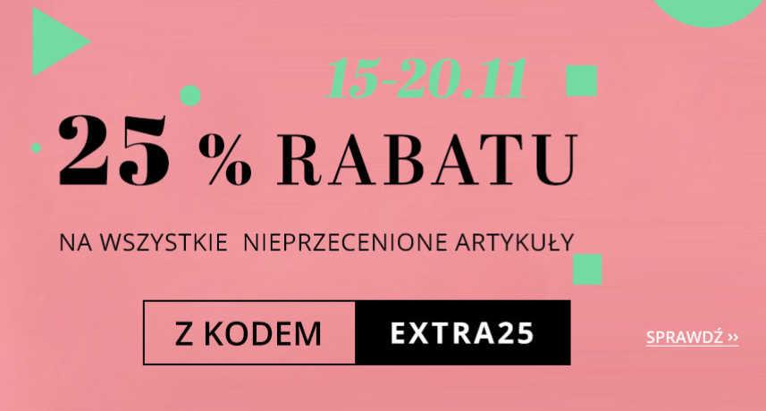 Drogeria Natura 25% zniżki z kodem rabatowym