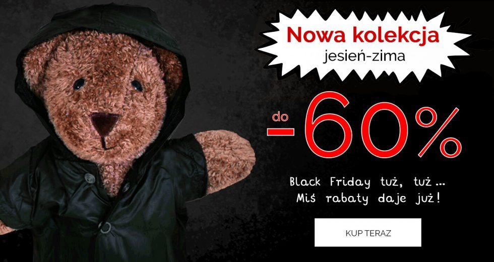 Wyprzedaż z okazji Black Friday na ubrania dziecięce w Endo