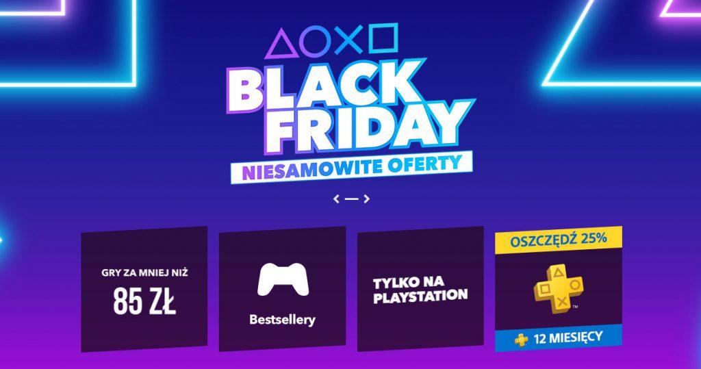 Playstation Store wyprzedaż gier Black Friday