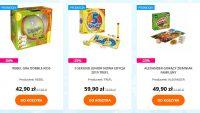 Gry dla dzieci w promocji w sklepie Zabawkitotu taniej do -34%