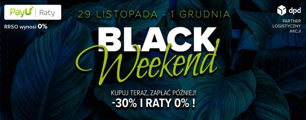Rolety i żaluzje promocja na Black Weekend