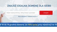 Rejestracja domeny .eu na 10 lat w promocji już za 56,32 zł