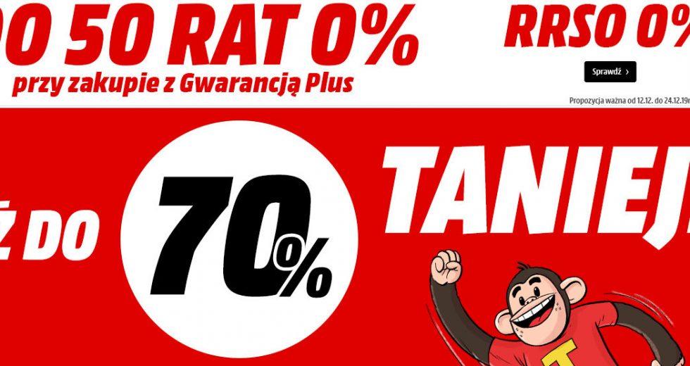 Media Markt promocje na AGD, RTV, smartfony do -70%
