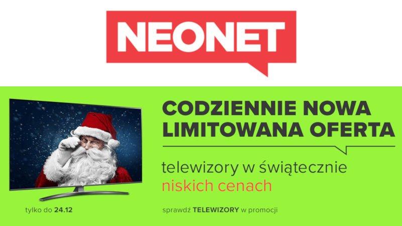 Neonet promocja telewizory Sony, LG, Samsung w niższej cenie