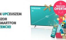Telewizor lub smartfon w prezencie do pakietów w UPC