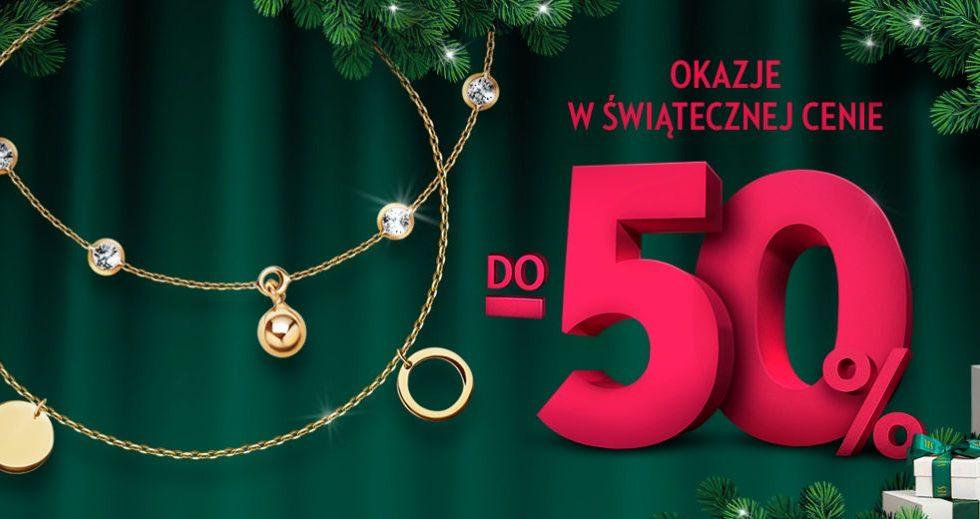 YES biżuteria, złoto, srebro, diamenty -50% w promocji