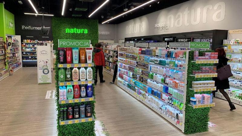 Klub Natura odbieraj nagrody za punkty w postaci kosmetyków