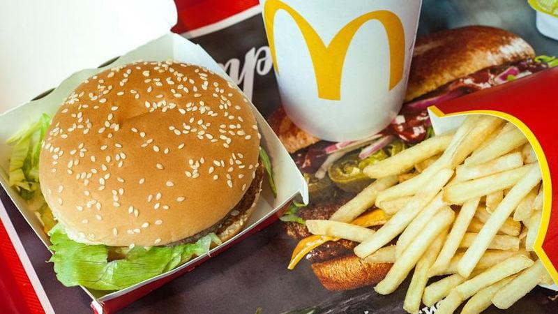 Darmowy hamburger McDonald's