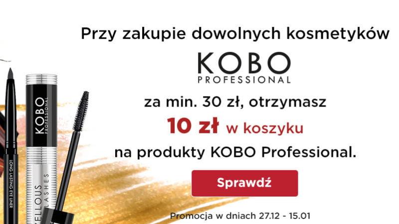 Promocja Kobo Professional Drogerie Natura dodatkowe 10 zł