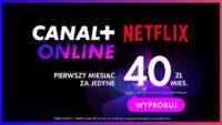 Canal Plus Online telewizja przez internet i VOD w promocji