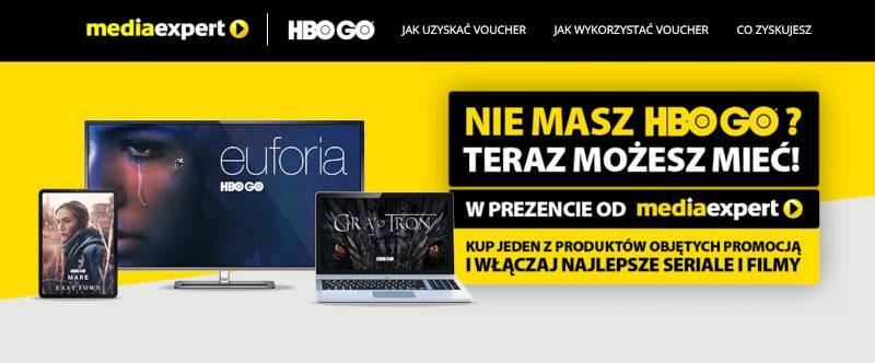 Media Expert voucher HBO GO